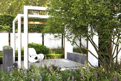 Moderne tuin strakke tuin directplant