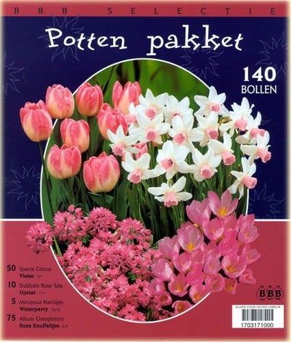 BBB Selectie 'Pottenpakket' - per 140. Kleur: meerkleurig