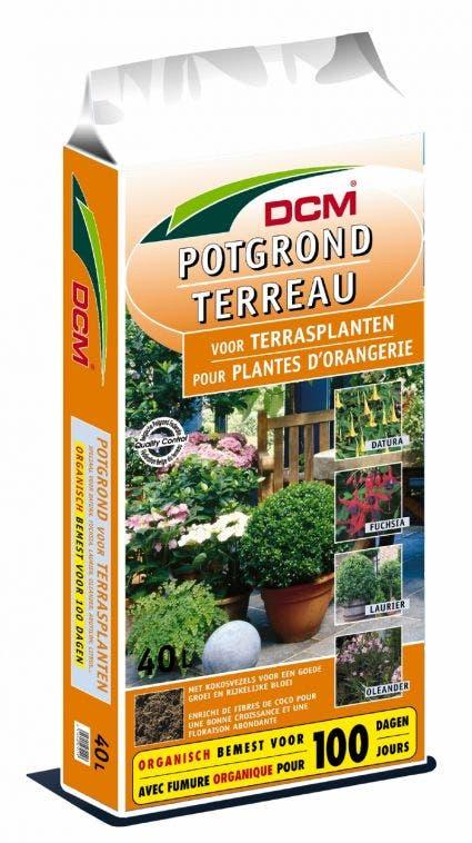 DCM Potgrond terrasplanten & Mediterrane planten (Potgrond terrasplanten) - 30 liter