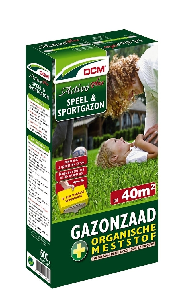 DCM Graszaad Activo® Plus-Overig-600 gram