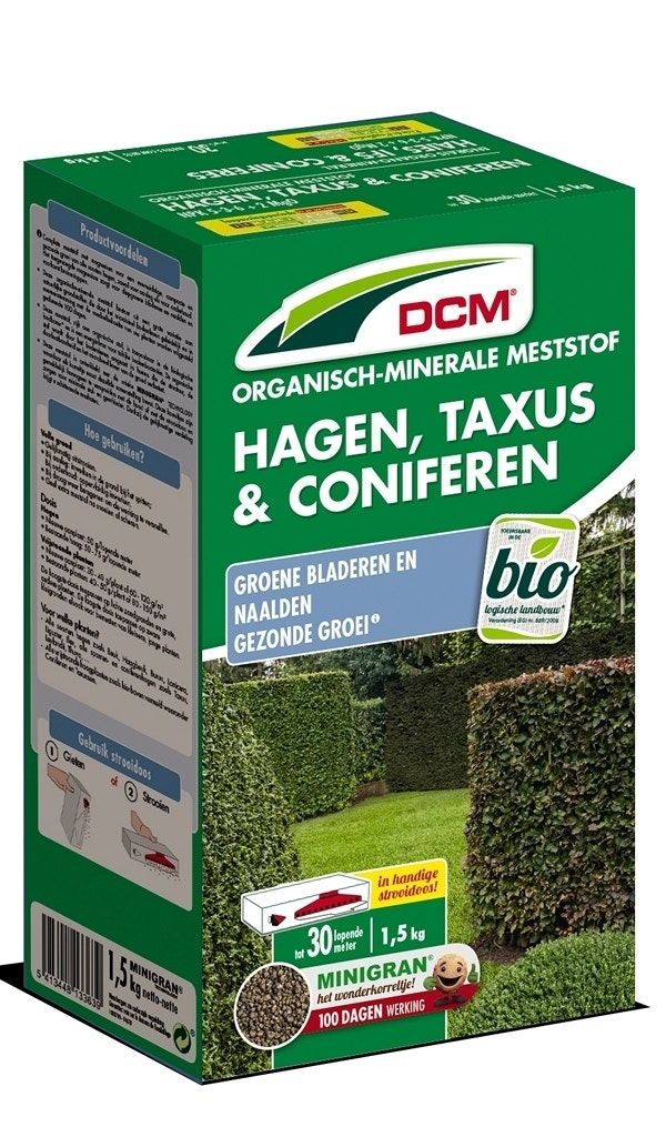 DCM Meststof Hagen,Taxus & Coniferen-Overig-1,5 kg