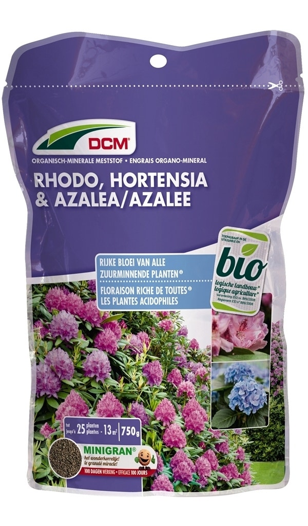DCM Meststof Rhodo, Hortensia & Azalea-Overig-750 gram